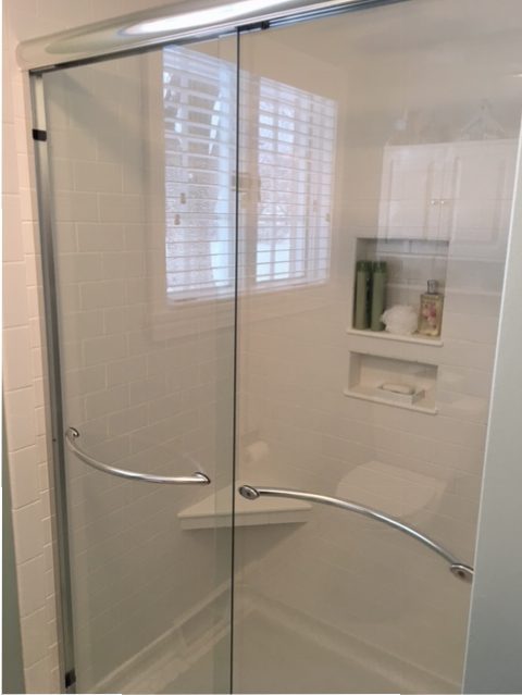 Full bathroom after