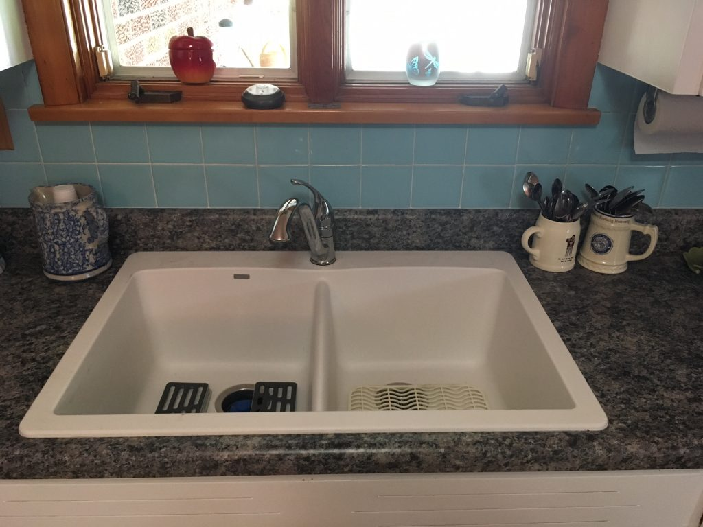 new kitchen sink